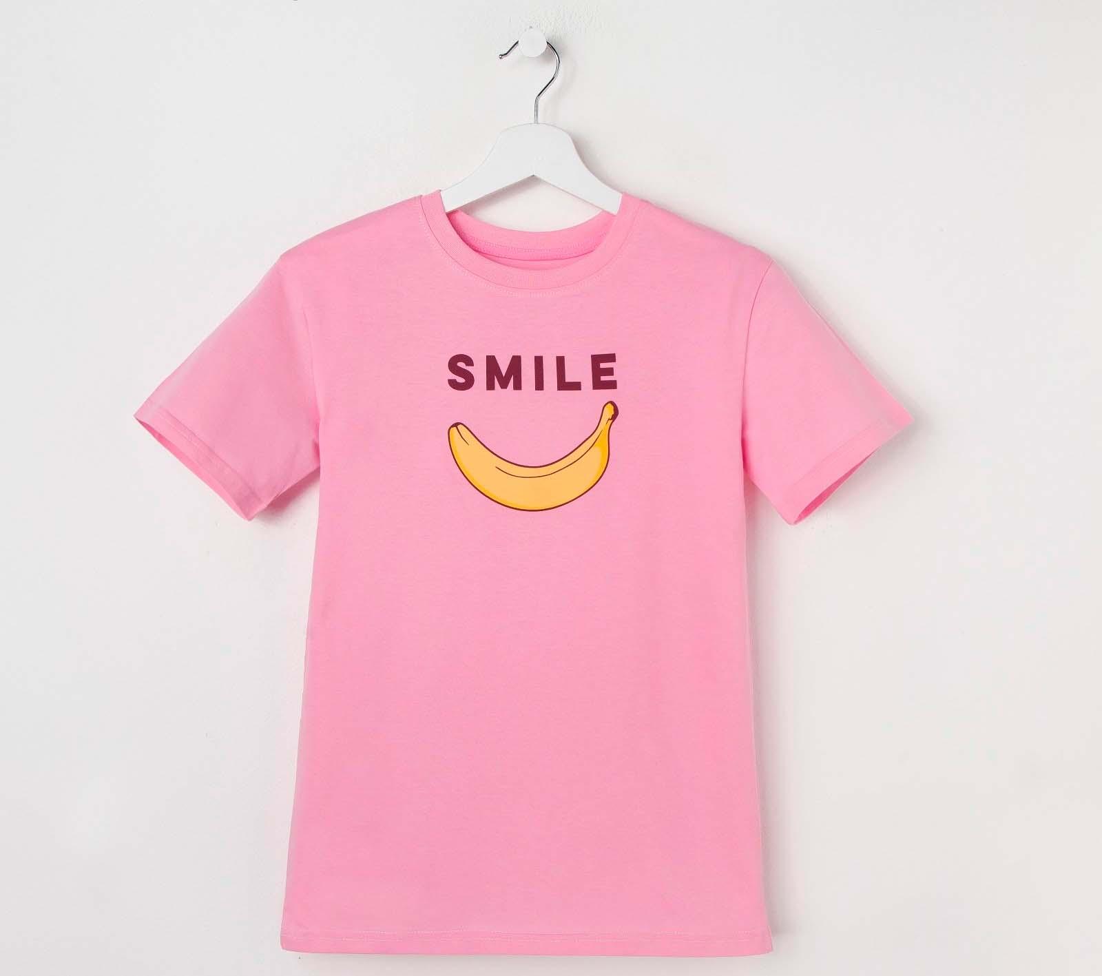 Футболка Smile Цвет: Розовый (40-42) KAFTAN kaf626356