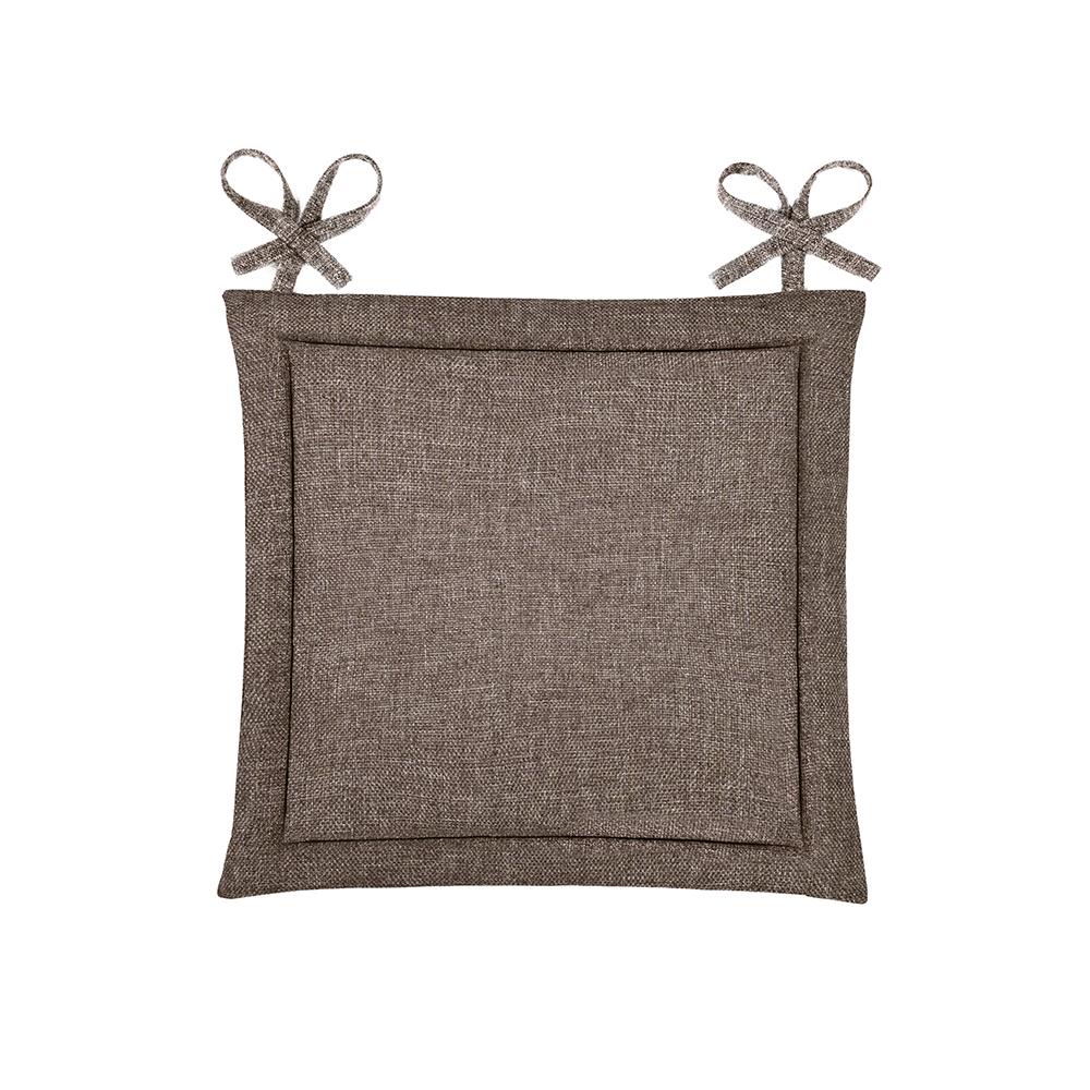 Подушка на стул Oleda Цвет: Шоколад (40х40)