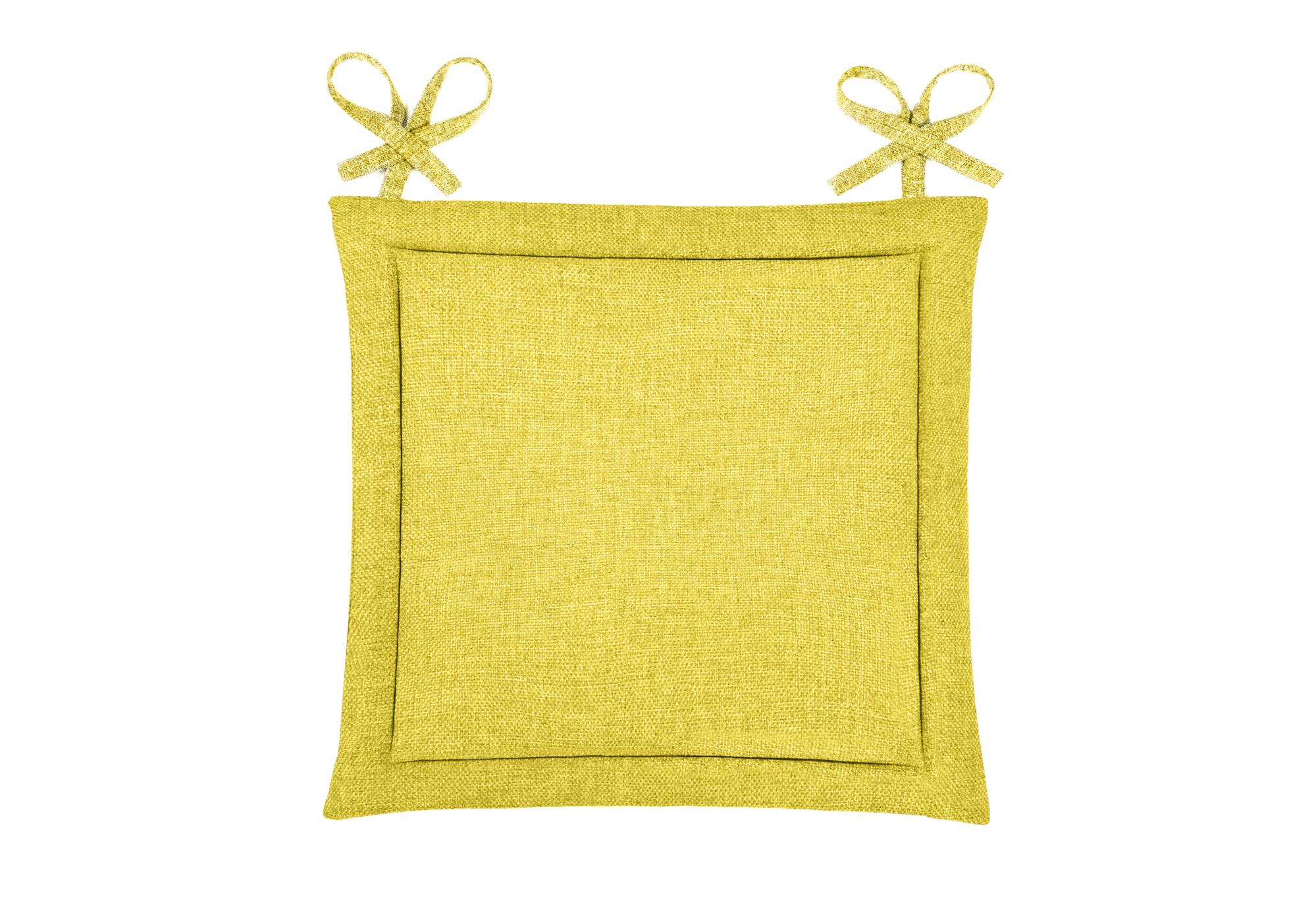Подушка на стул Anabel Цвет: Горчичный (40х40)