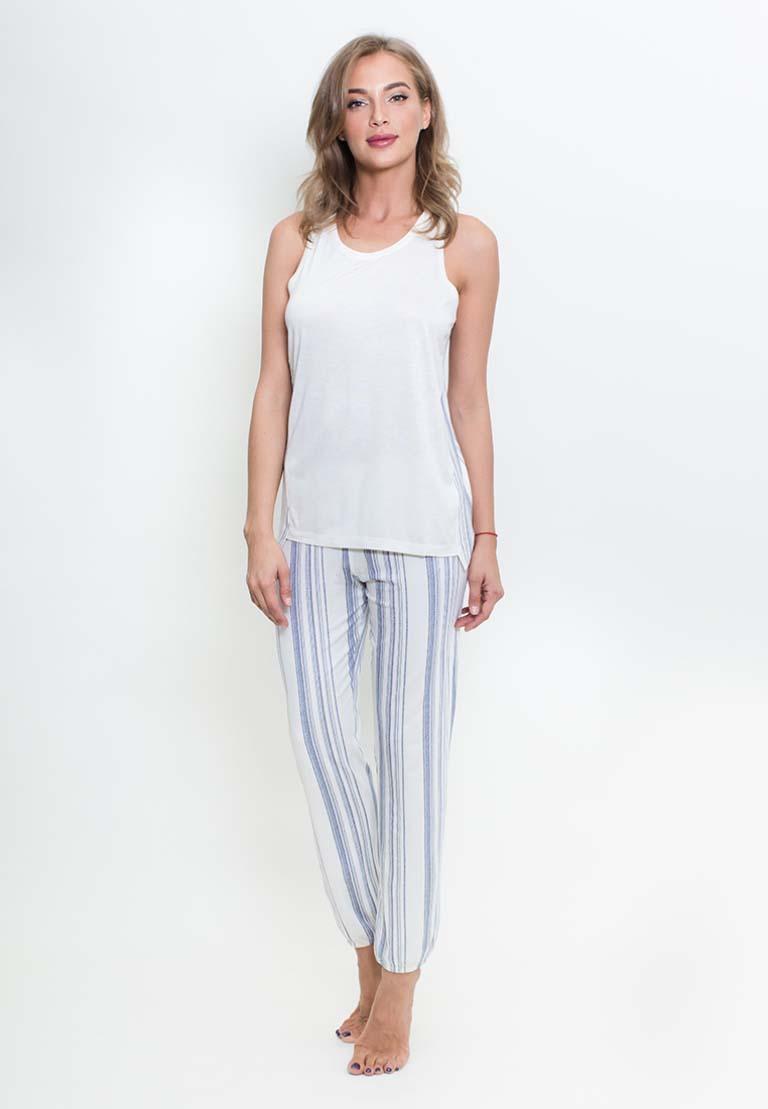 Пижама Buffy Цвет: Белый Синий (L).