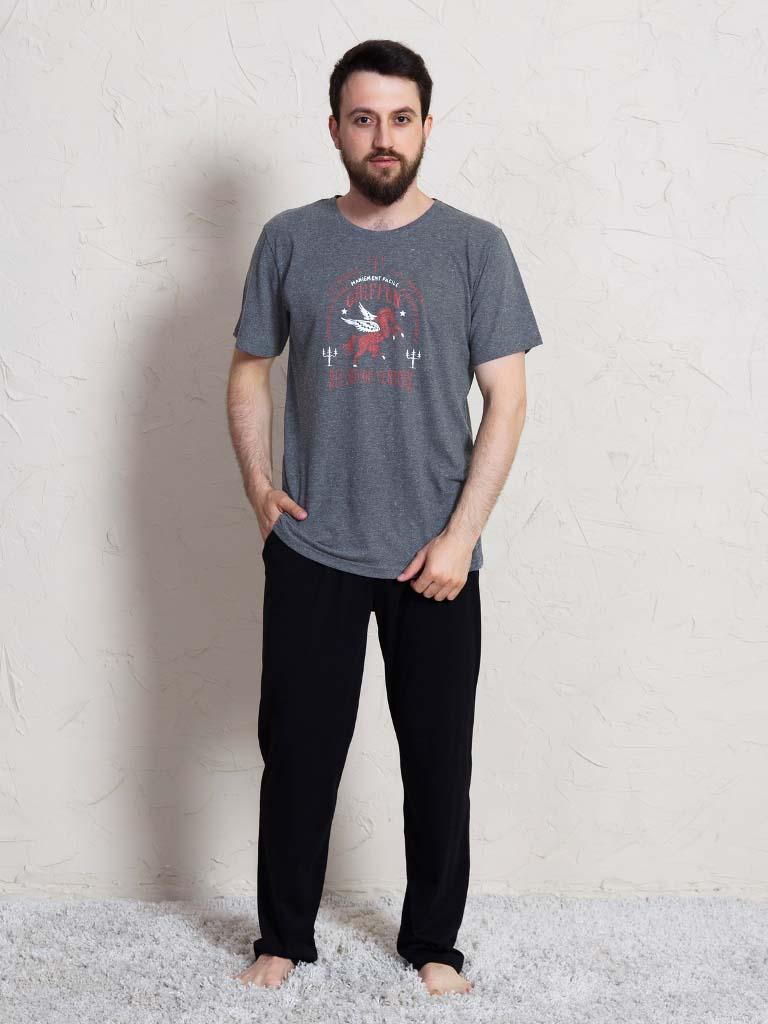Пижама Loysburg Цвет: Черный (S) фото