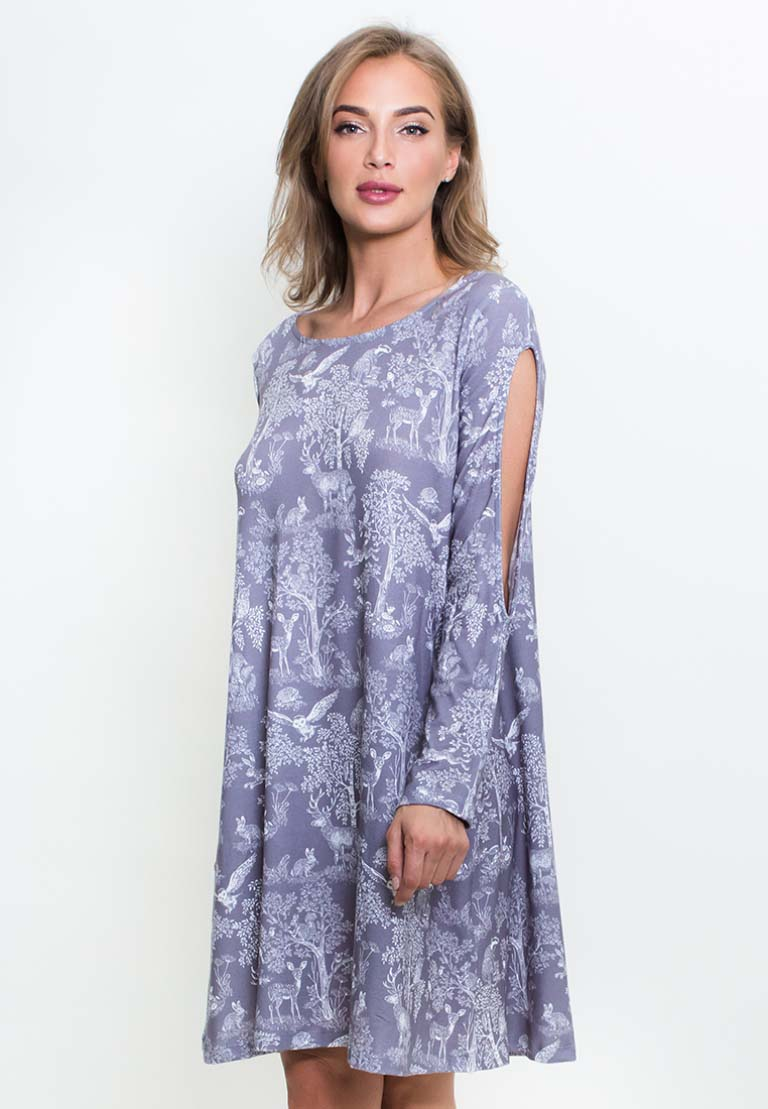 Платье Driscoll Цвет: Серый (L).