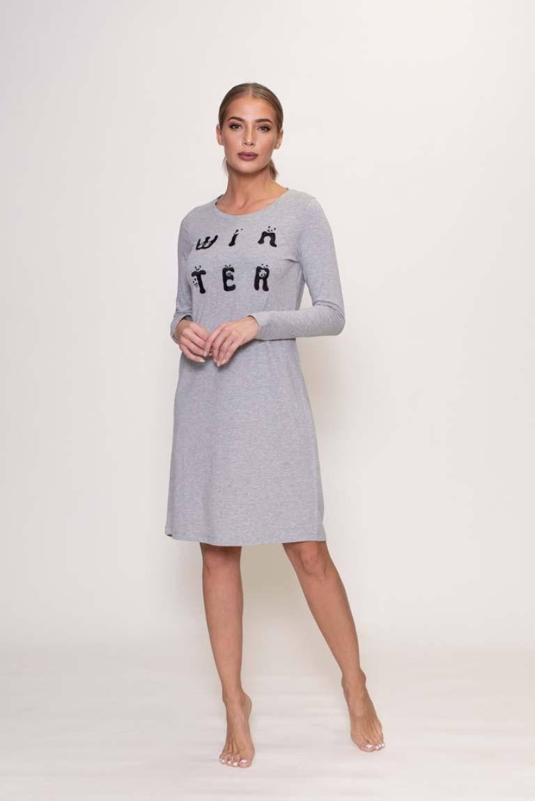 Платье Stormie Цвет: Серый (S).
