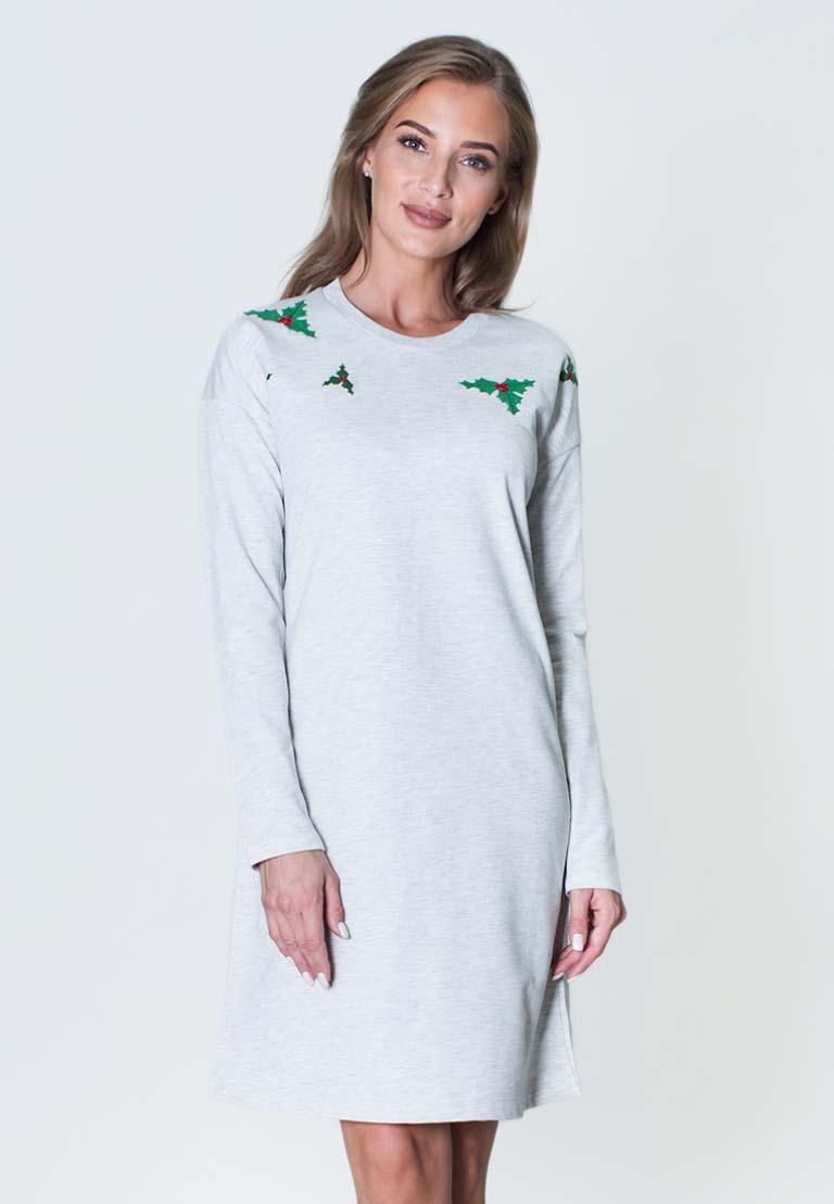 Платье James Цвет: Серый (S).