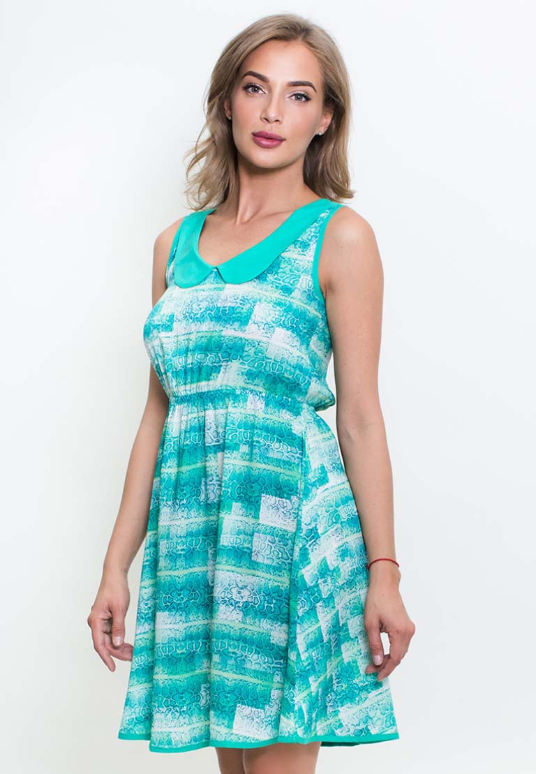 Платье Jenelle Цвет: Зеленый (S).