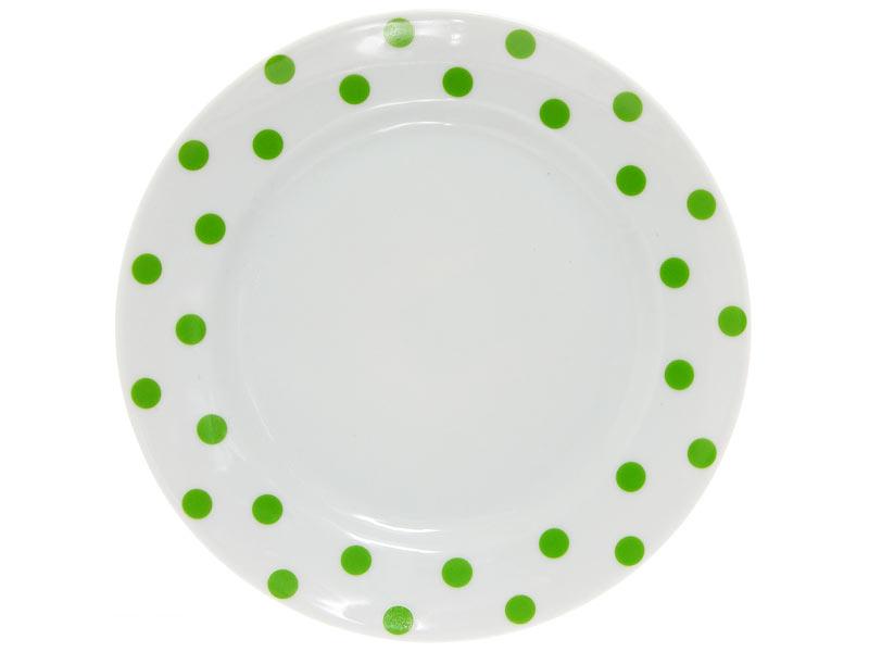 Тарелка Зеленый горошек Добрушский фарфоровый завод spe790825