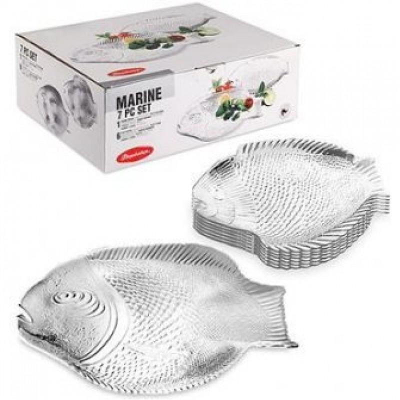 Набор тарелок Marine Pasabahce psb790643