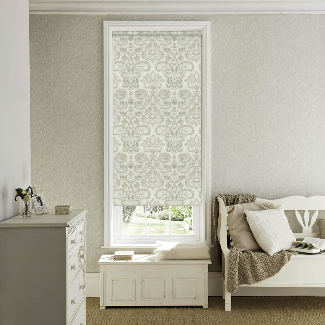 Купить Римские и рулонные шторы Dome, Миниролло Dome Design Цвет: Tiffany, Дания, Портьерная ткань