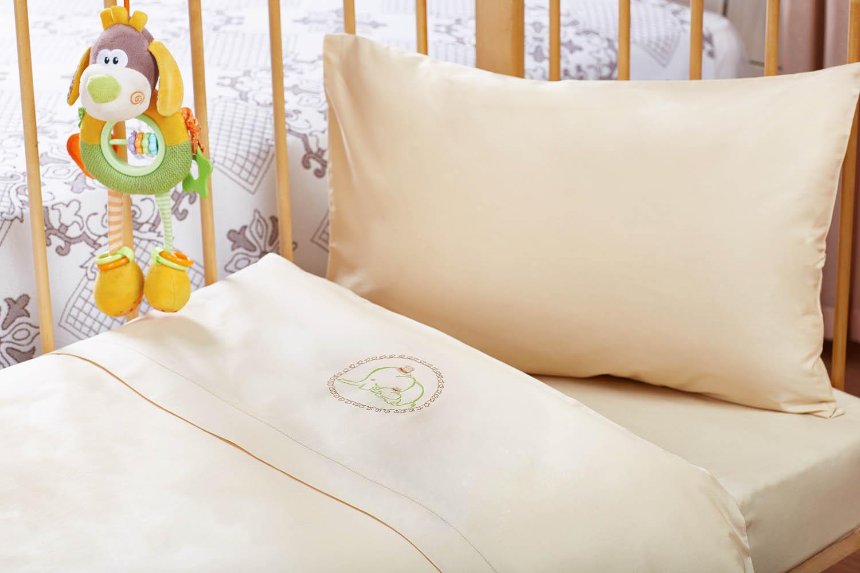 детское постельное белье Primavelle Детское Постельное белье Elia Цвет: Бежевый (60х120 см) wisan салфетка дорожка кшиштов цвет золотистый 60х120 см