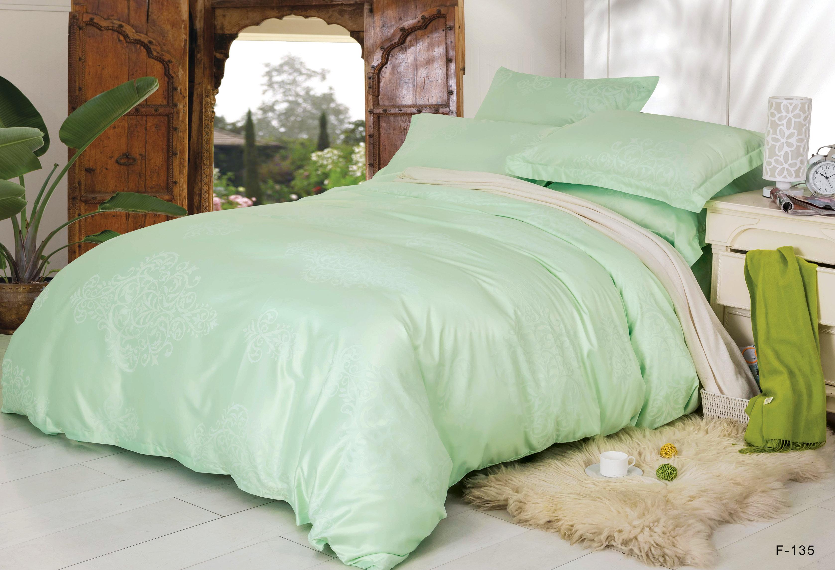 Купить Комплекты постельного белья СайлиД, Постельное белье Valencia F-135 (2 сп. евро), Китай, Хлопковый сатин