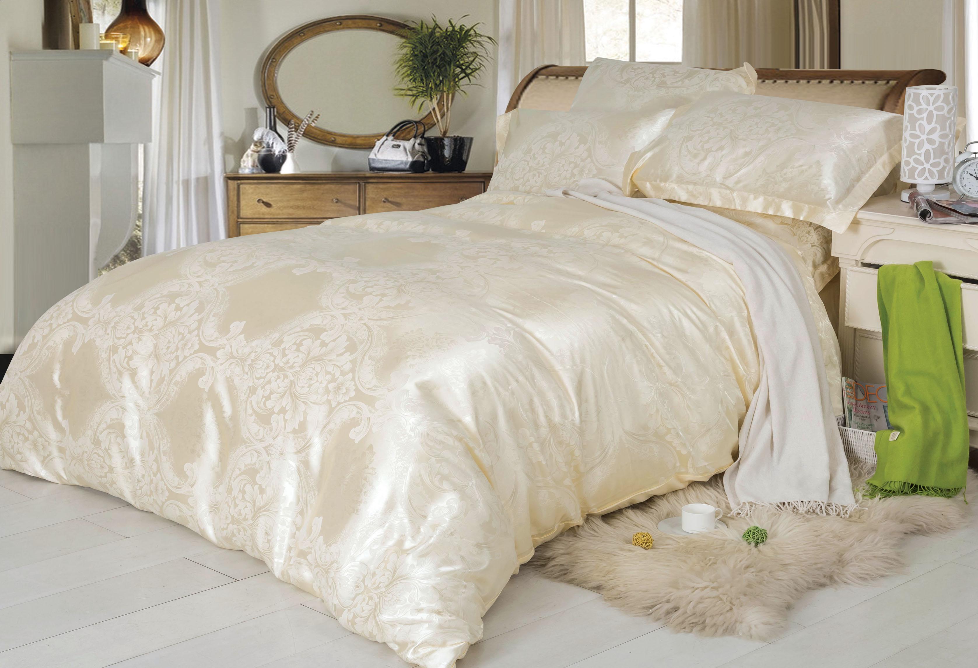 Купить Комплекты постельного белья СайлиД, Постельное белье Quintessa F-136 (2 сп. евро), Китай, Хлопковый сатин