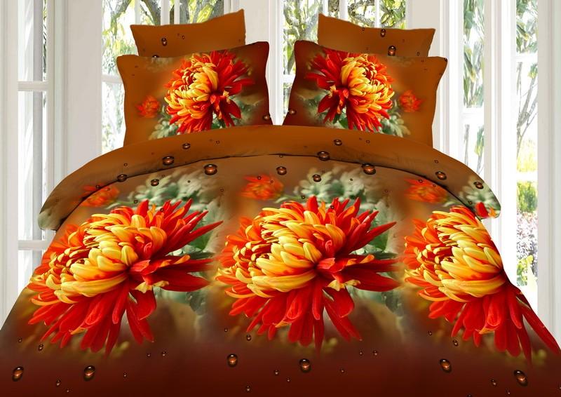 Купить Комплекты постельного белья Fantasy, Постельное белье Sanzalize (2 сп. евро), Россия, Синтетический сатин