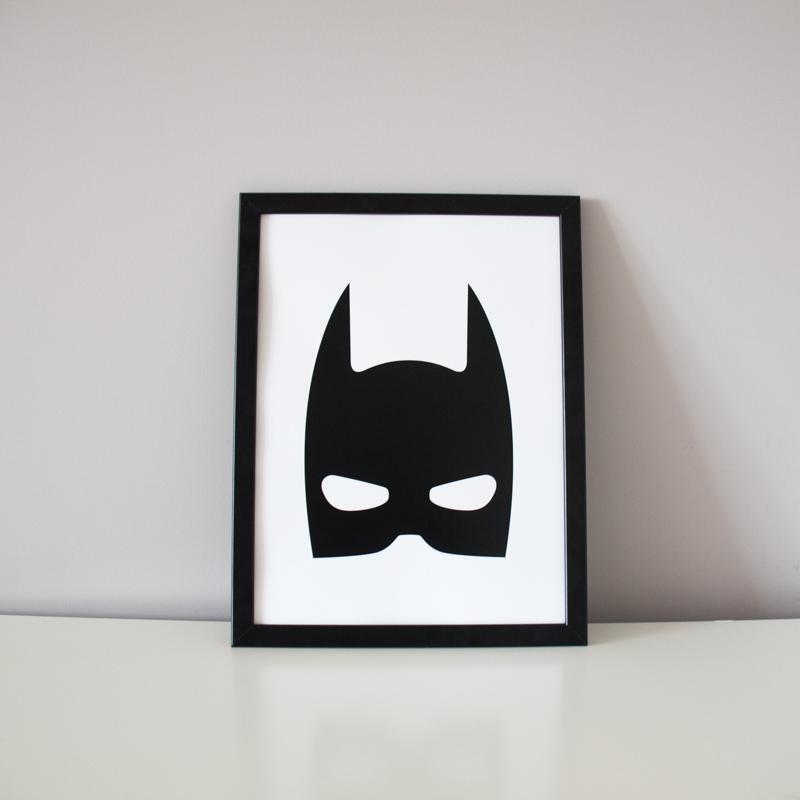 Постер Batman (40х50 см) фото