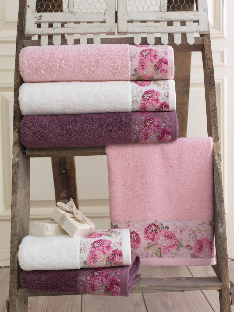 Полотенца Arya Полотенце Desima Цвет: Пурпурный (50х90 см) полотенца arya полотенце desima цвет розовый 50х90 см