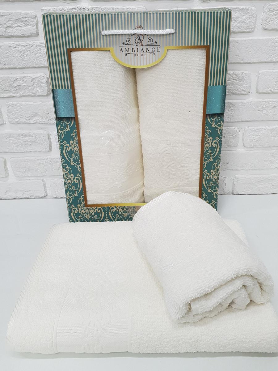 Полотенце Lusi Цвет: Кремовый (50х90 см,70х140 см)