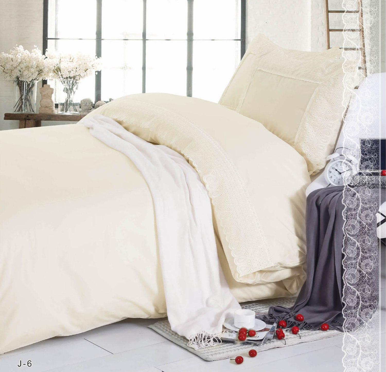 Купить Комплекты постельного белья СайлиД, Постельное бельеHellenJ-6(1, 5 спал.), Китай, Бежевый, Поплин