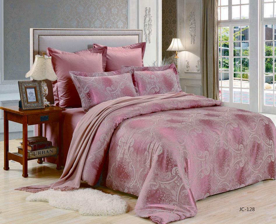Купить Комплекты постельного белья Valtery, Постельное белье Lili (семейное), Китай, Фиолетовый, Хлопковый сатин