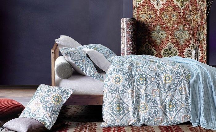 Купить Комплекты постельного белья Mioletto, Постельное белье Scholastica (1, 5 спал.), Китай, Серый, Хлопковый сатин