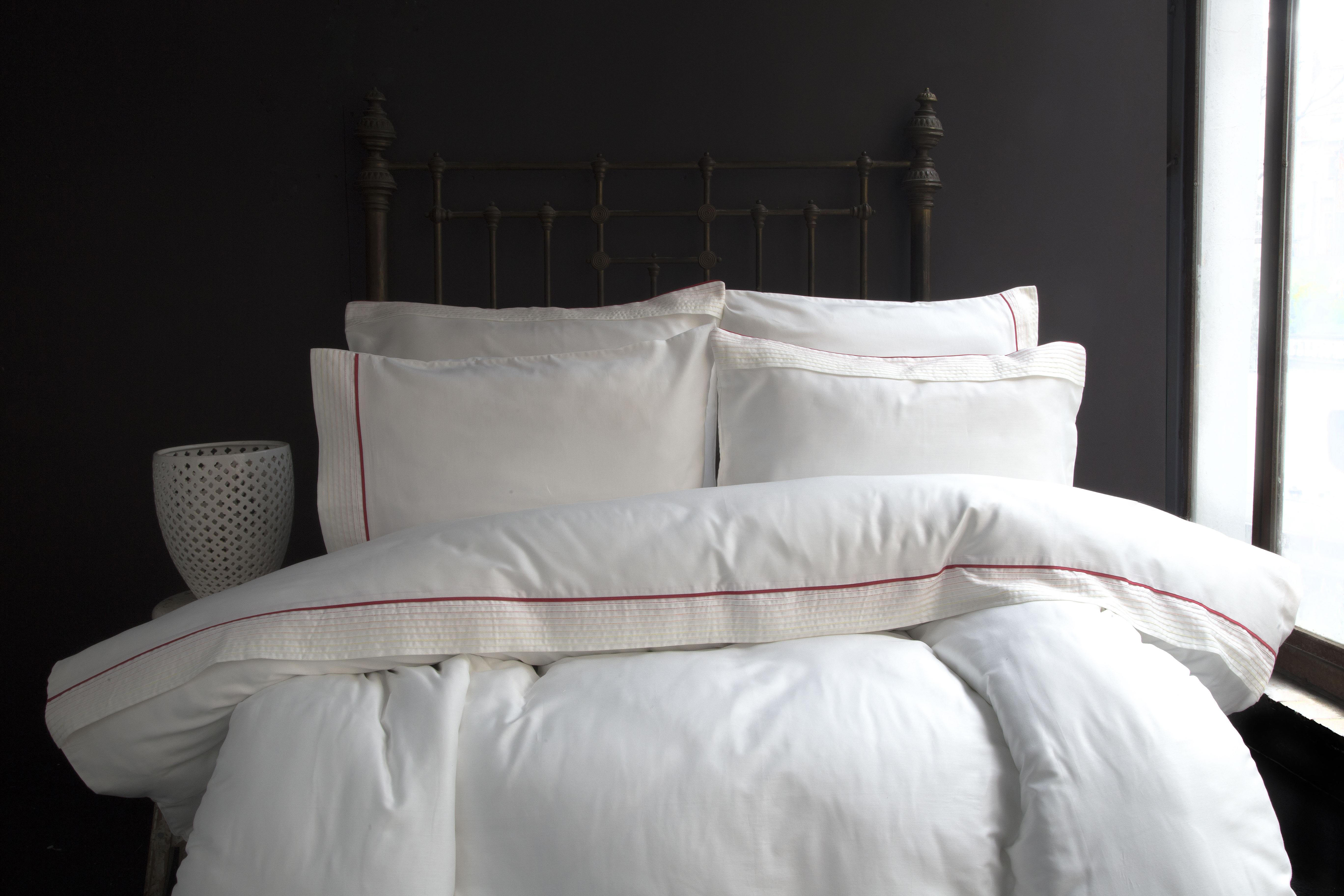 Купить Комплекты постельного белья Issimo, Постельное белье Larina Цвет: Оранжевый (2 сп. евро), Турция, Хлопковый сатин
