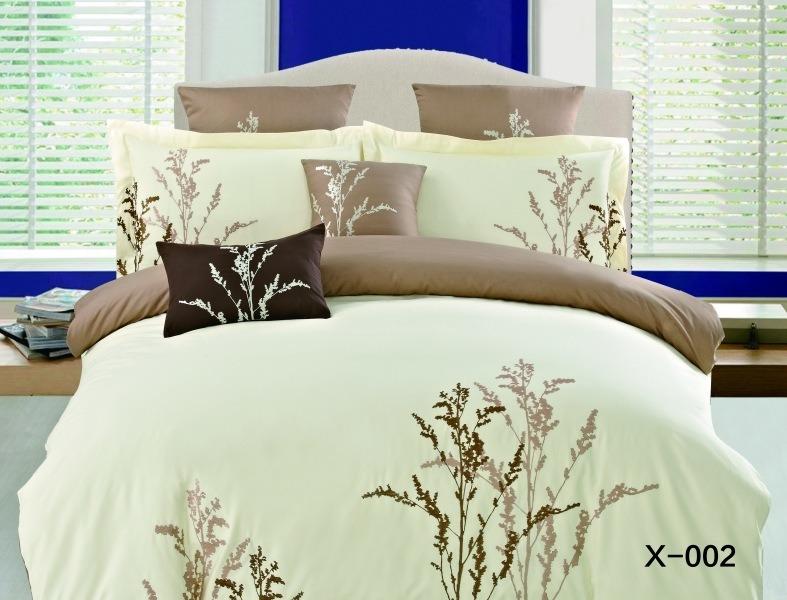 Купить Комплекты постельного белья Mioletto, Постельное белье Colette (2 спал.), Китай, Желтый, Кремовый, Хлопковый сатин