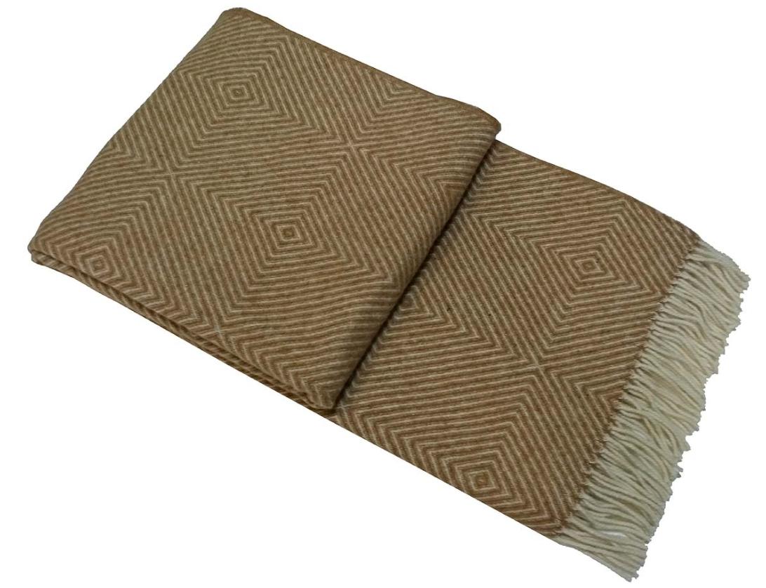 Купить Пледы и покрывала Vladi, Плед Лилль (140х200 см), Украина, Твил из шерсти