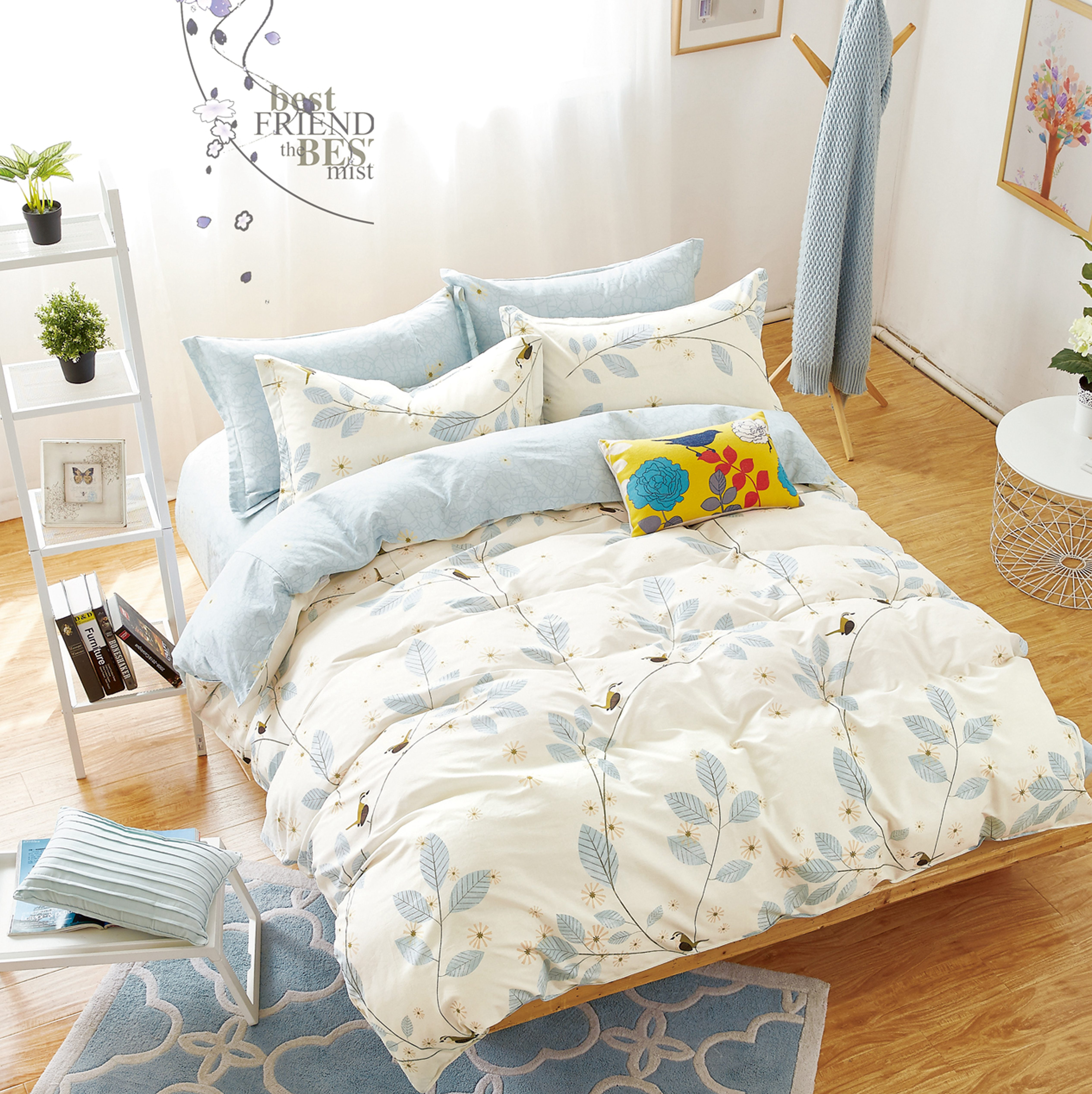 Купить Комплекты постельного белья Mioletto, Постельное белье Serenad (2 спал.), Китай, Хлопковый сатин