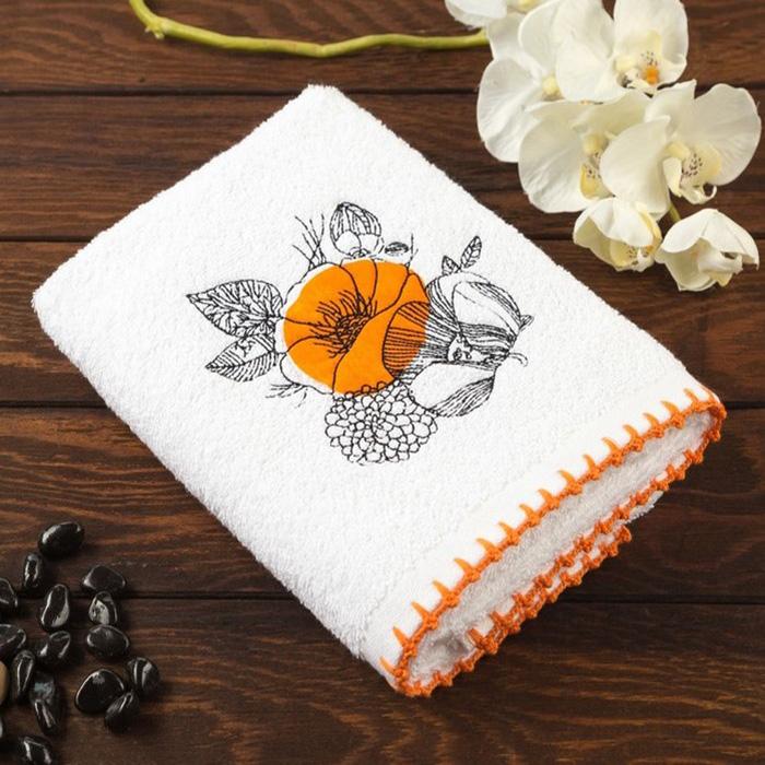 Кухонное полотенце Malva Цвет: Оранжевый (50х70 см)