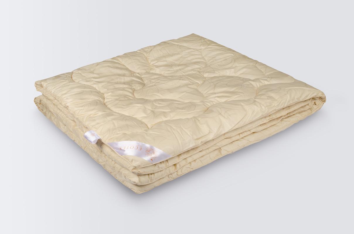 Купить Одеяла EcoTex, Одеяло Меринос - Роял Всесезонное (200х220 см), Россия, Хлопковый жаккард