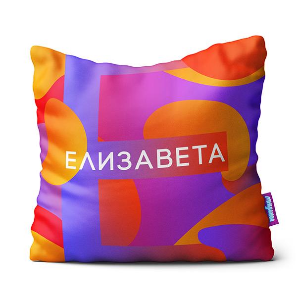 Декоративная подушка Elizaveta Цвет: Мультиколор (34х34) фото