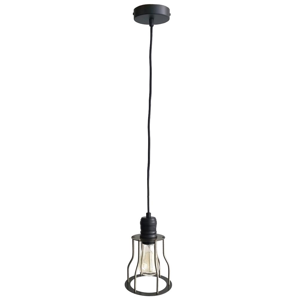 Купить Настенно-потолочные светильники ARTEVALUCE, Подвесной светильник Penelope (15х24 см), Китай, Черный, Металл, Стекло