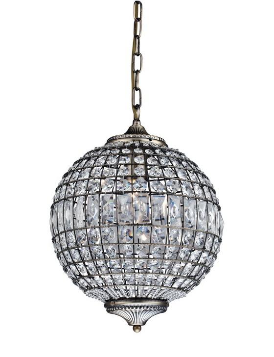 Купить Настенно-потолочные светильники CRYSTAL LIGHT, Подвесной светильник Teana Цвет: Бронзовый(30х150 см), Китай, Коричневый, Серый, Металл, Хрусталь