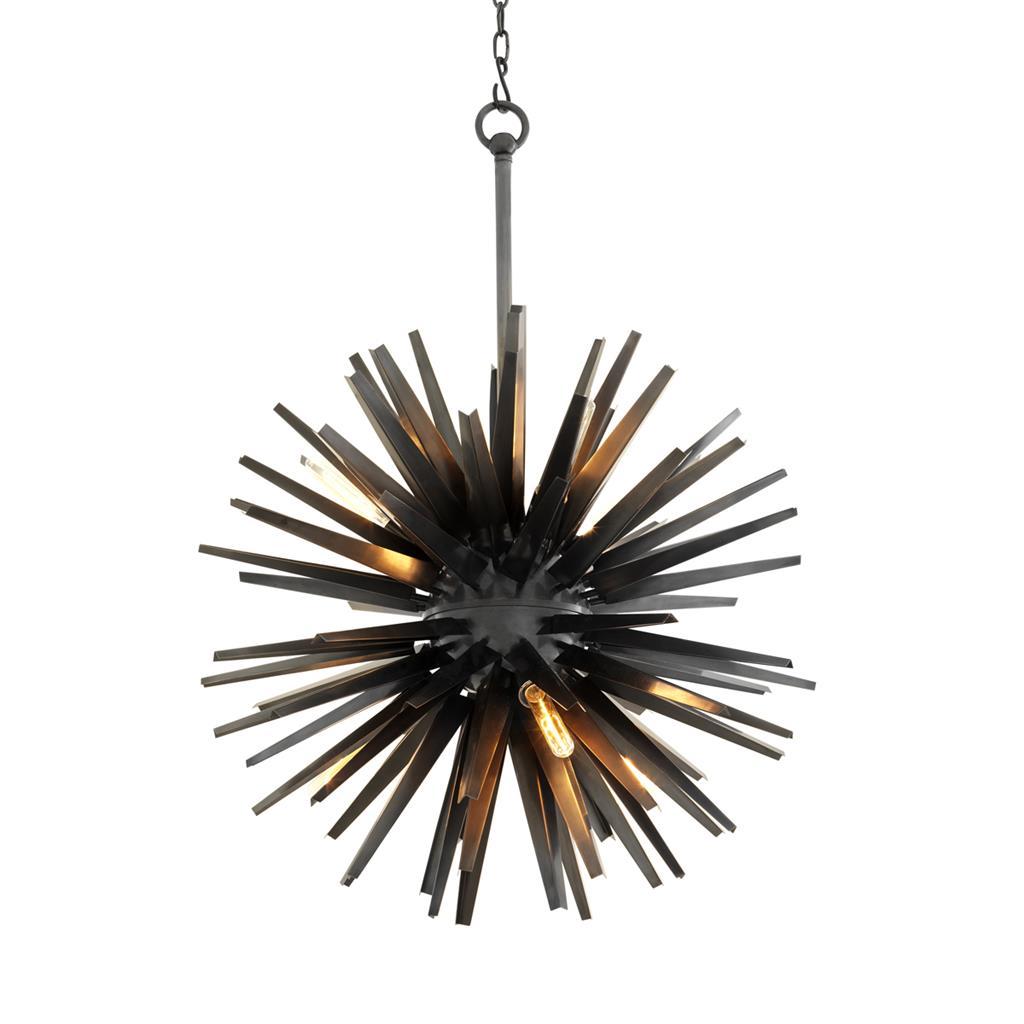 Купить Настенно-потолочные светильники CRYSTAL LIGHT, Светильник подвесной Nergis Цвет: Черный (82х150 см), Китай, Металл