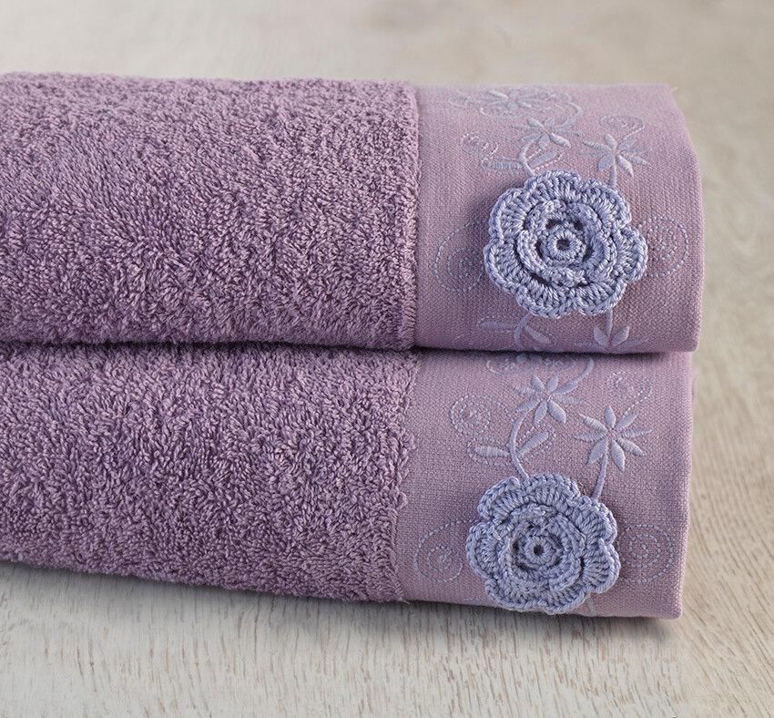 Полотенце Прованс Цвет: Лиловый (70х140 см)