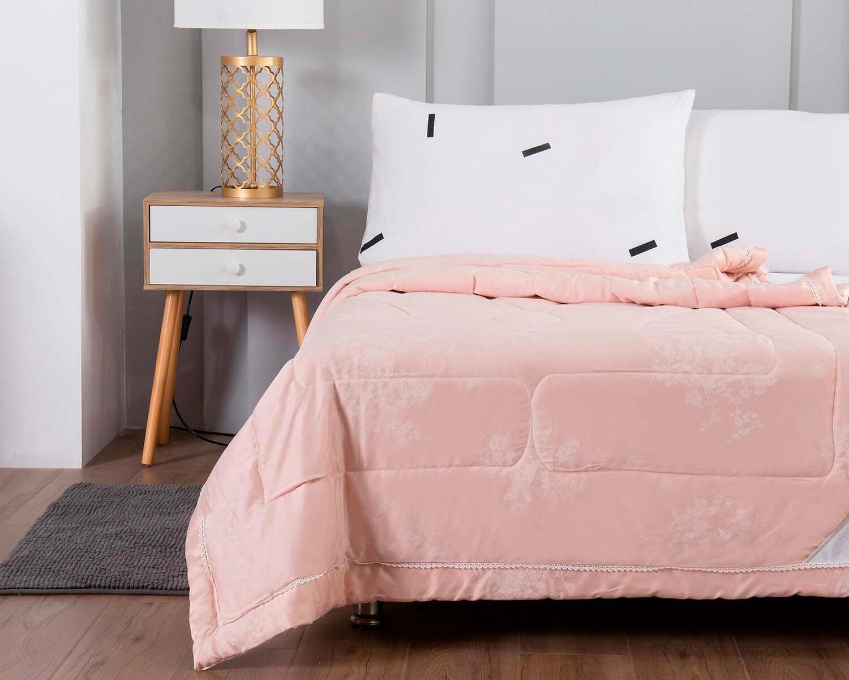Одеяло Шарлиз цвет: пудра (200х220 см)