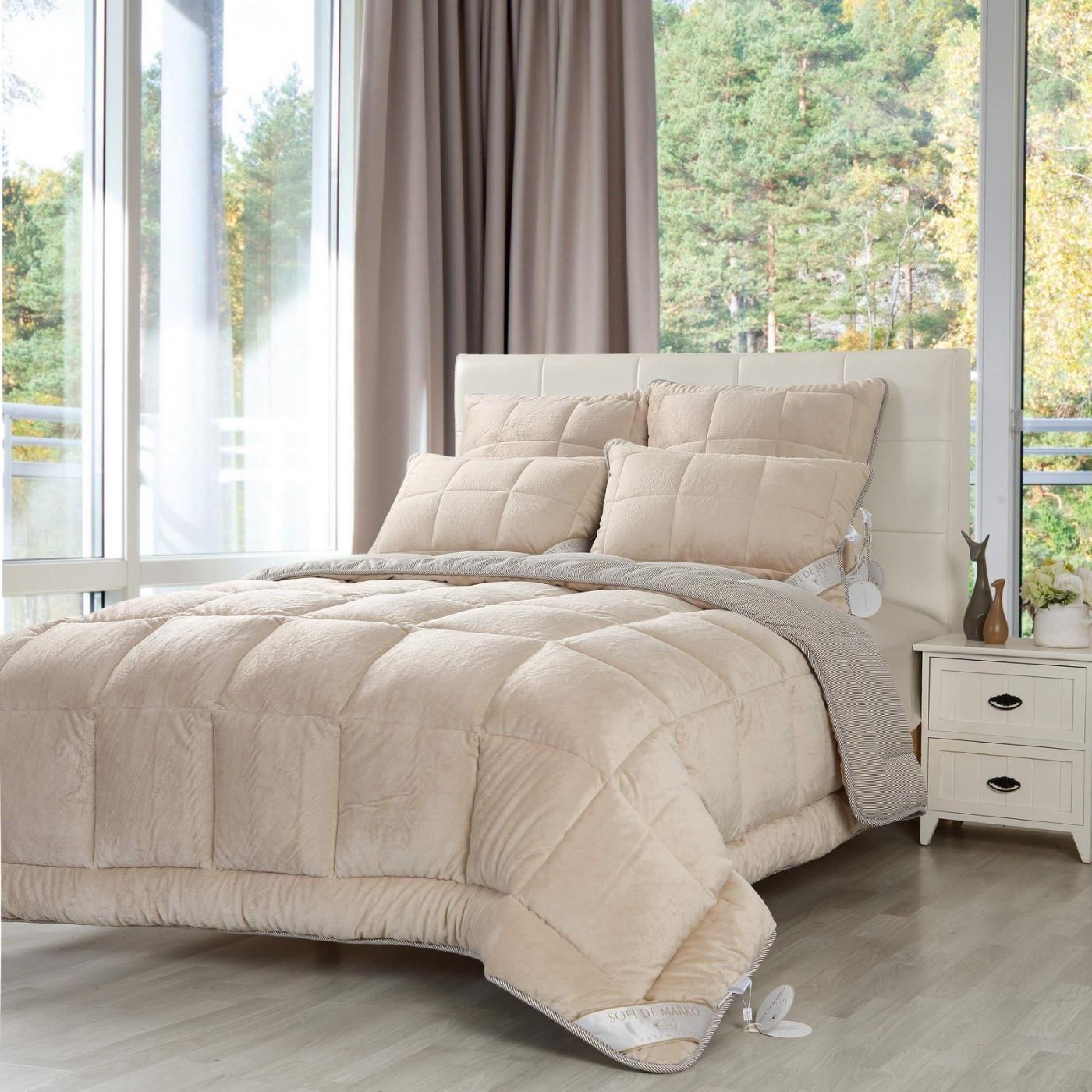 Одеяло Extra soft цвет: бежевый (195х215 см)