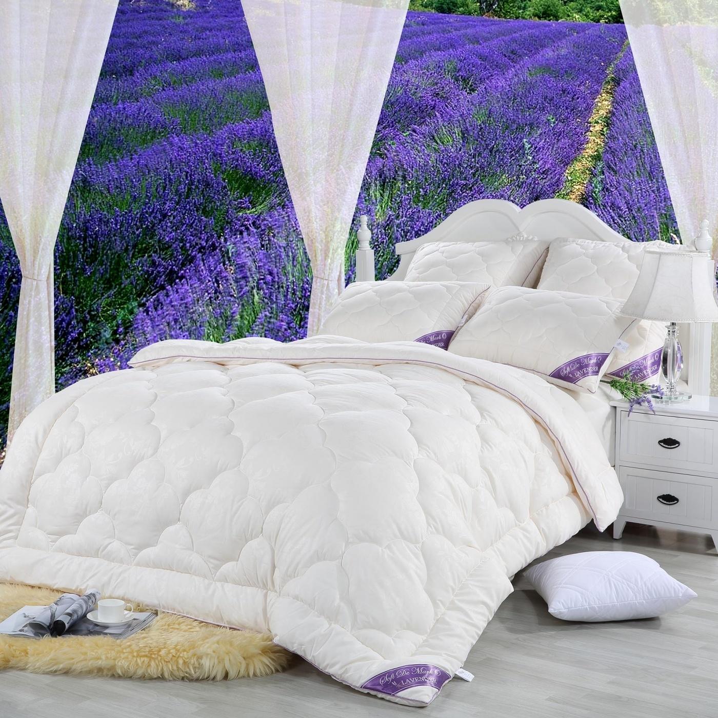 Одеяло Lavanda цвет: белый (195х215 см)