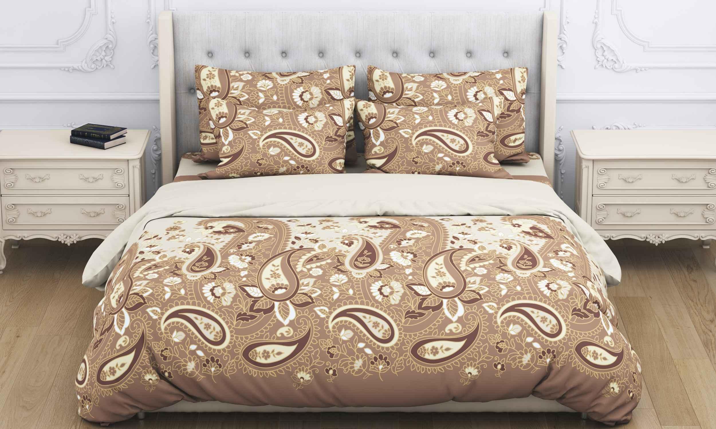 Купить Комплекты постельного белья Amore Mio, Постельное белье Paysle (2 сп. евро), Китай, Бязь