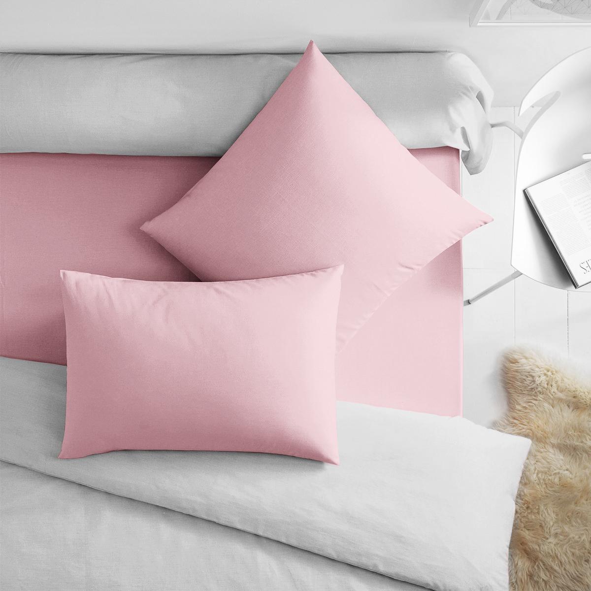 Купить Наволочки Dome, Наволочка Dome Цвет: Розовый (50х70 (2 шт)), Дания, Хлопковый сатин