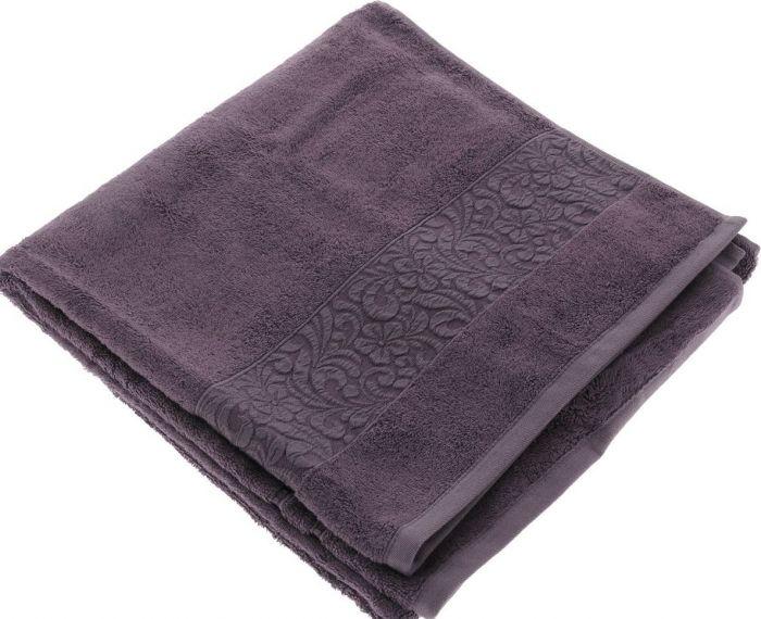 Полотенца Issimo Полотенце Valencia Цвет: Пурпурный (70х140 см) issimo issimo полотенце andorra цвет бежевый 70х140 см