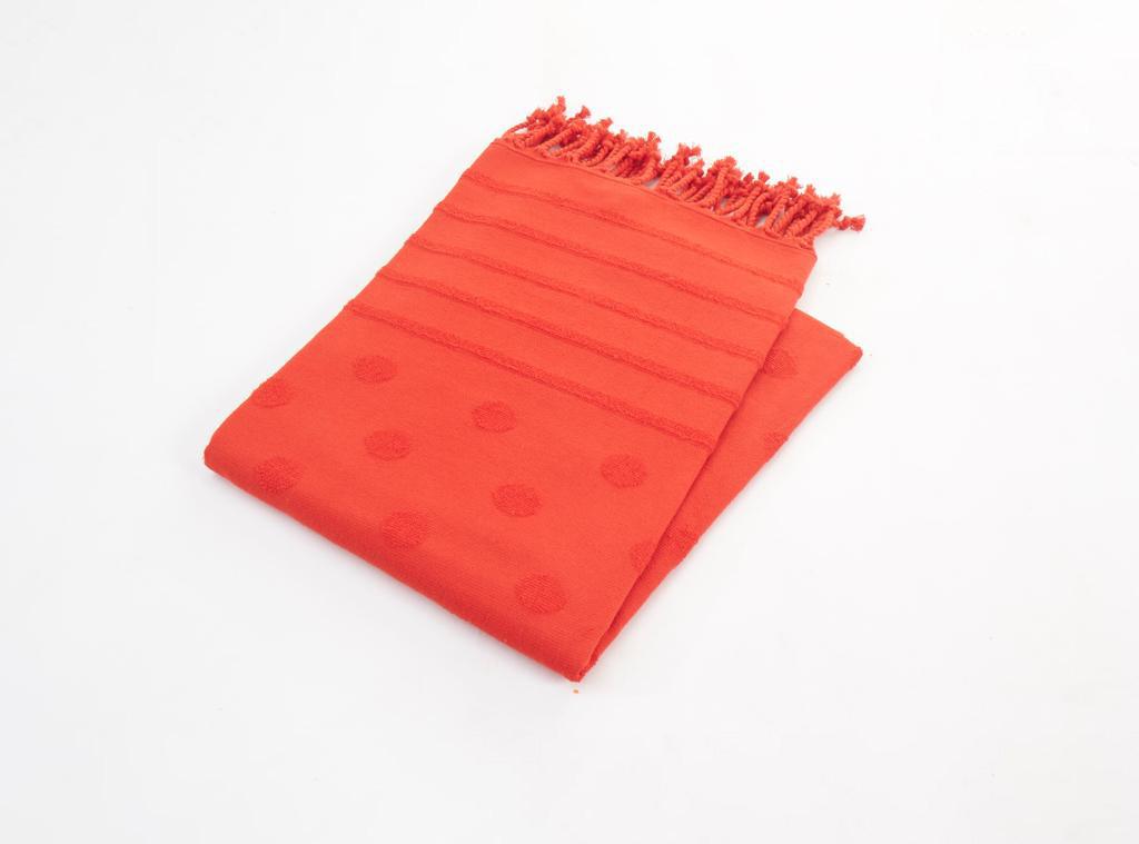Полотенце Derryl Цвет: Красный (90х160 см)