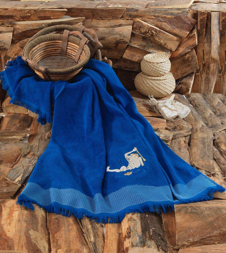 Полотенце Wellness Цвет: Темно-Синий (100х150 см)