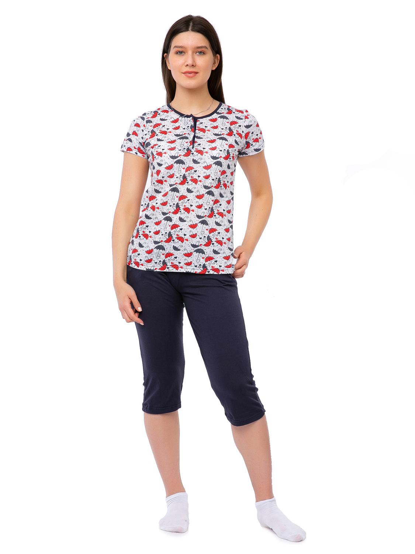Пижама Зонтики (52) Eleganta ena750872