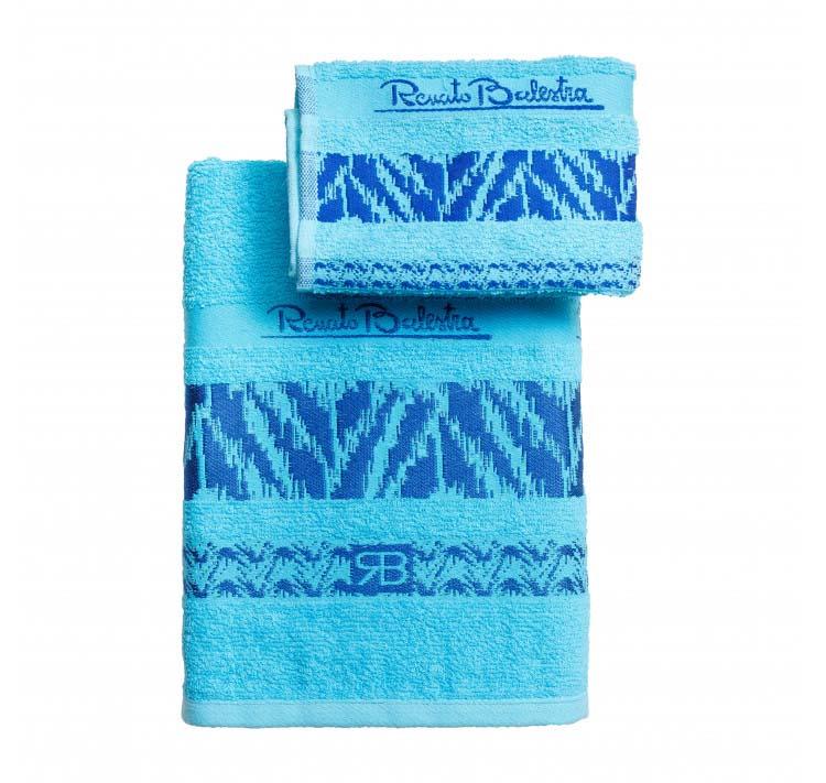 Полотенце Симба цвет: голубой (40х60 см,60х110 см)