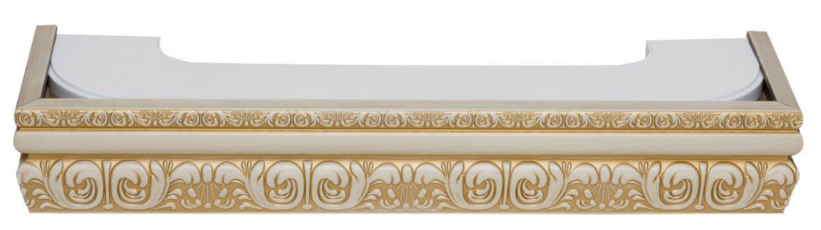 Карнизы и аксессуары для штор ARCODORO Карниз Сонет Цвет: Слоновая Кость (300 см)