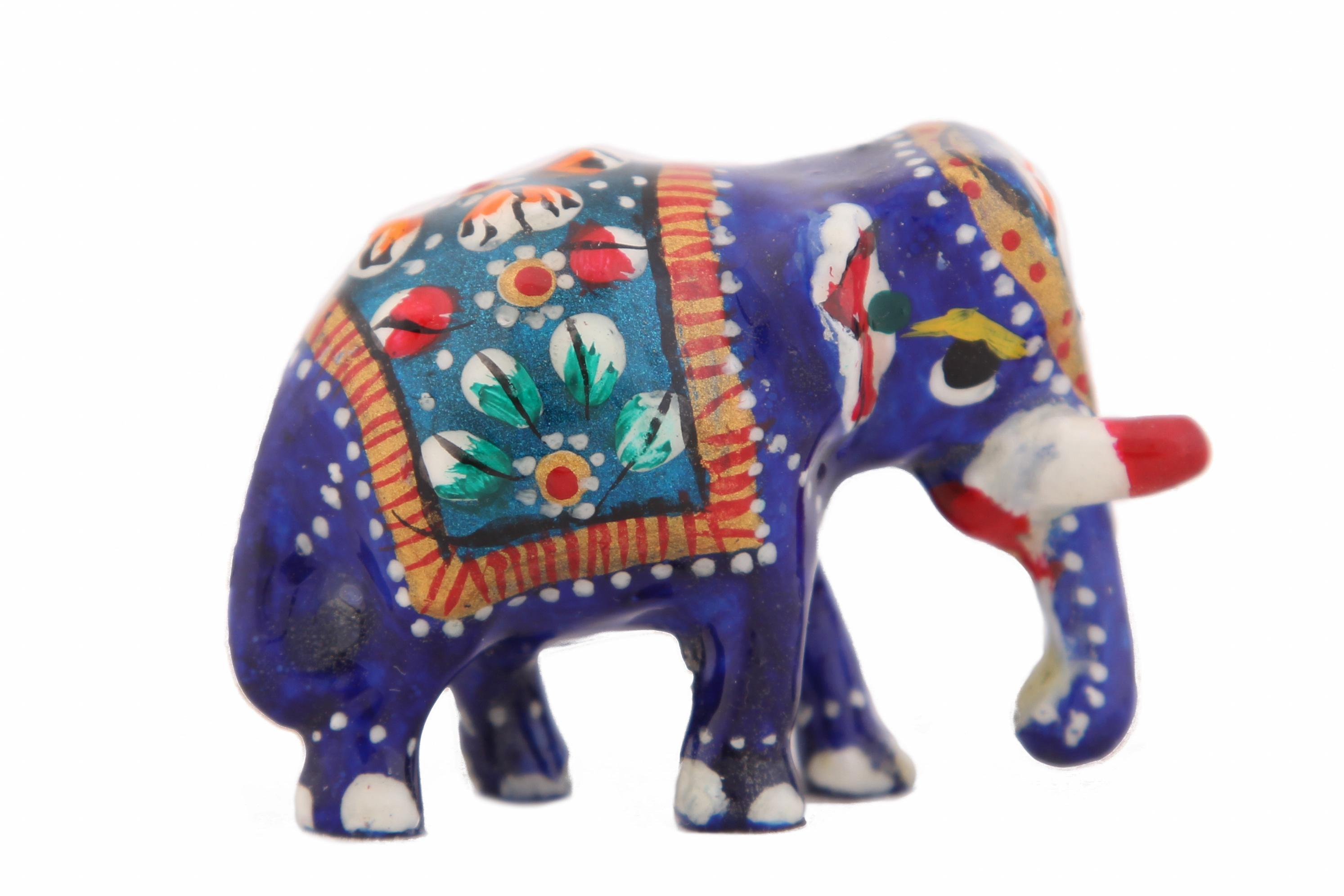 Статуэтки и фигурки Ганг Статуэтка Слон (2х4х5 см) ганг зонтница shayna 30х30х60 см
