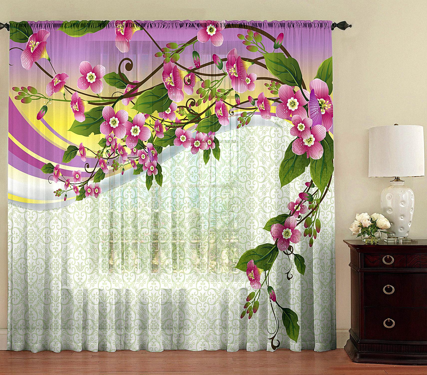 языке фотопечать цветы на шторах каталог нас можно