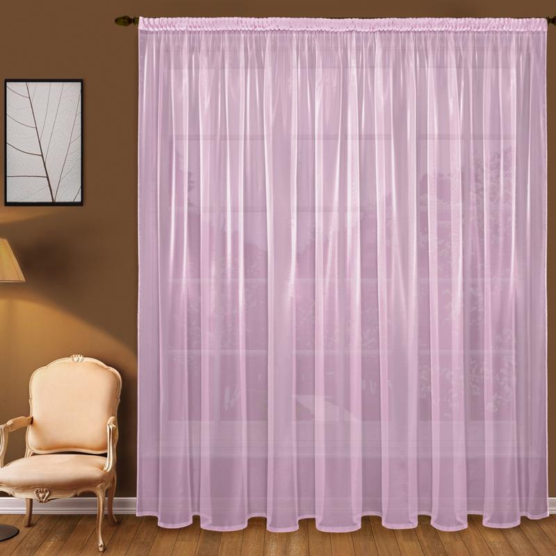 Купить Шторы Elegante, Классические шторы Mose Цвет: Сиреневый, Китай, Розовый, Вуаль