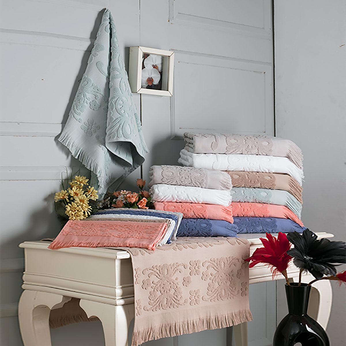 Купить Полотенца Arya, Полотенце Isabel Soft Цвет: Бежевый (70х140 см), Турция, Махра