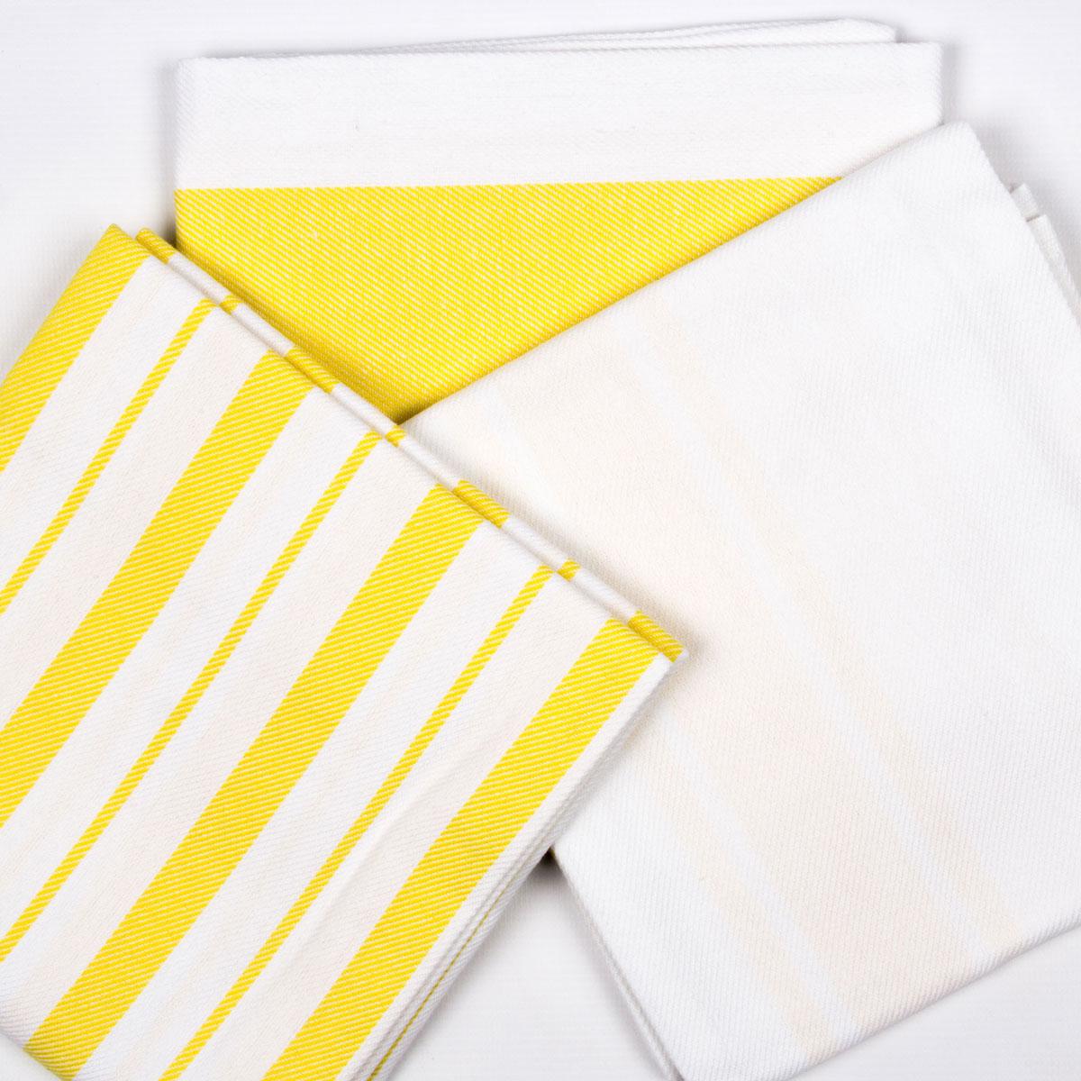 Купить Полотенца Arya, Кухонное полотенце Gabi Цвет: Желтый (50х70 см), Турция, Белый, Желтый, Бязь