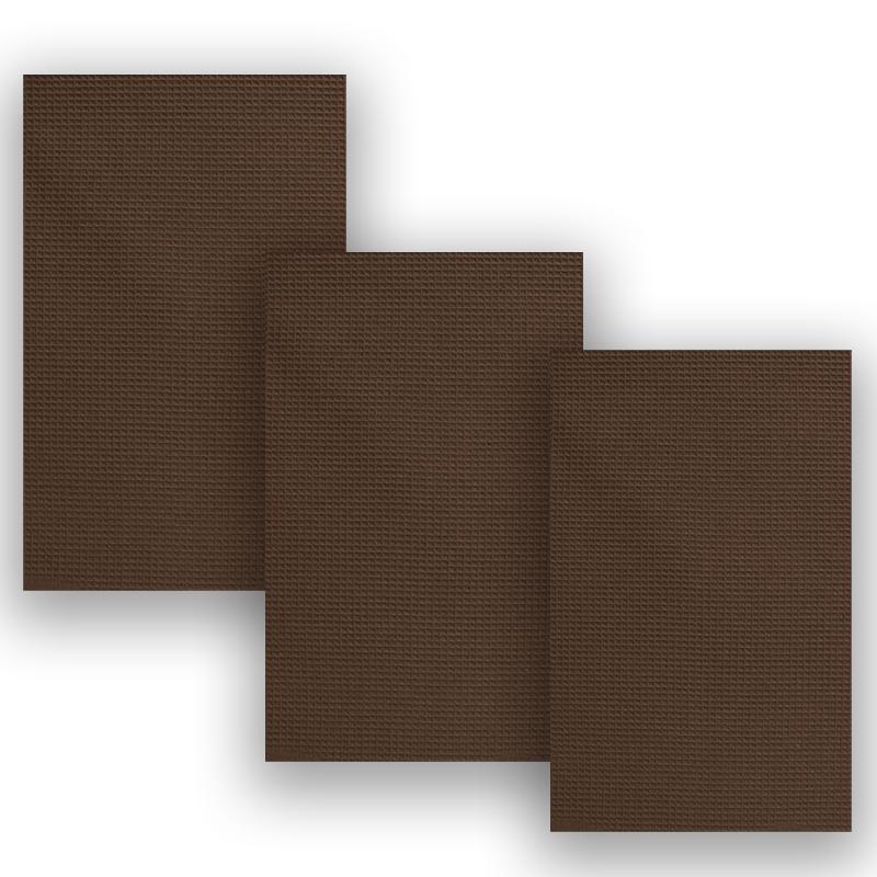 Кухонное полотенце Gaynor цвет: темно-коричневый (45х70 см - 3 шт)